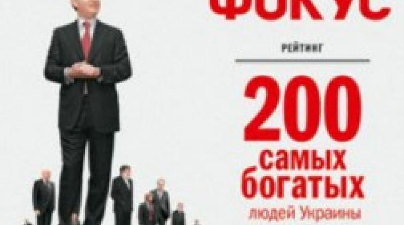 термобелье самые богатые люди украины или
